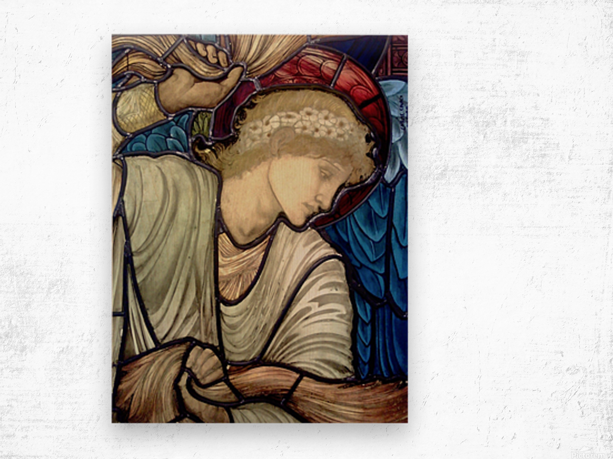 Edward Burne Jones 14 Wood print