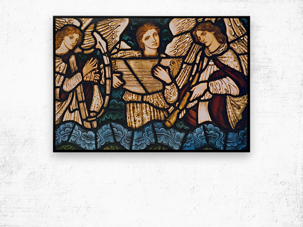 Edward Burne Jones 21 Wood print