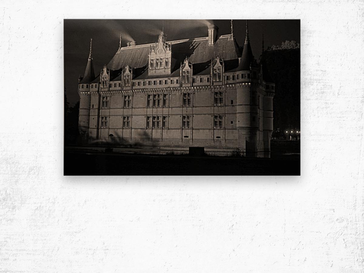 Azay le Rideau   Châteaux de la Loire  Wood print