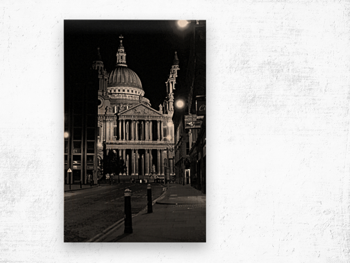 St. Paul's Cathedral London Wood print