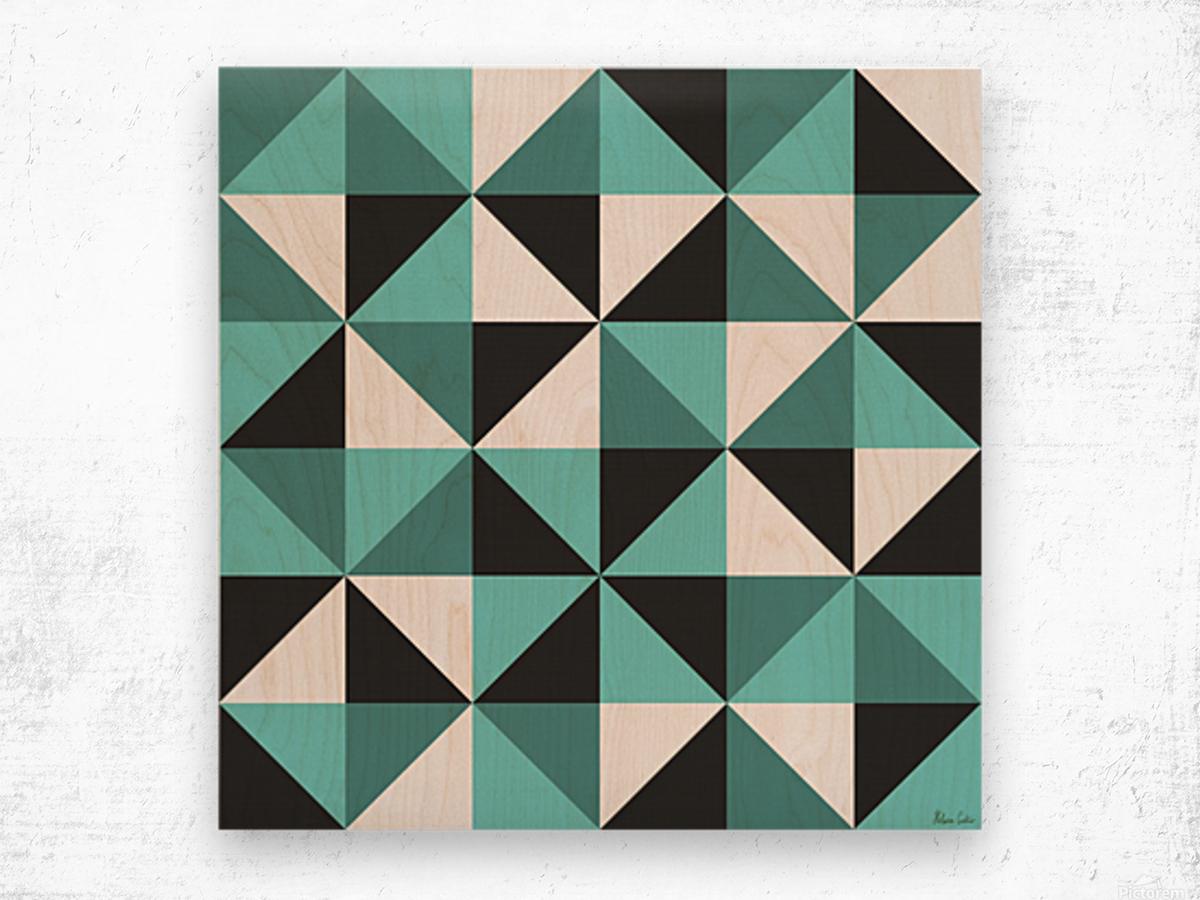 HC0235 Wood print
