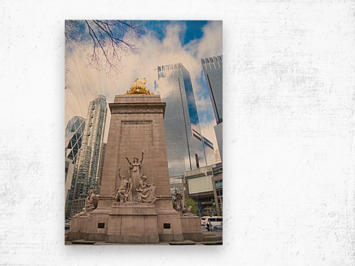 New York City Wood print