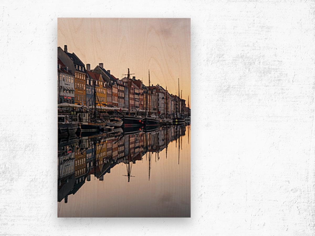 COPENHAGEN 02 Wood print