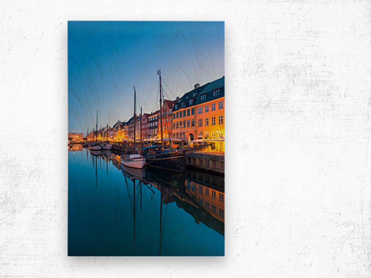 COPENHAGEN 07 Wood print