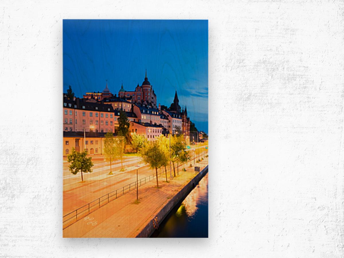 STOCKHOLM 02 Wood print