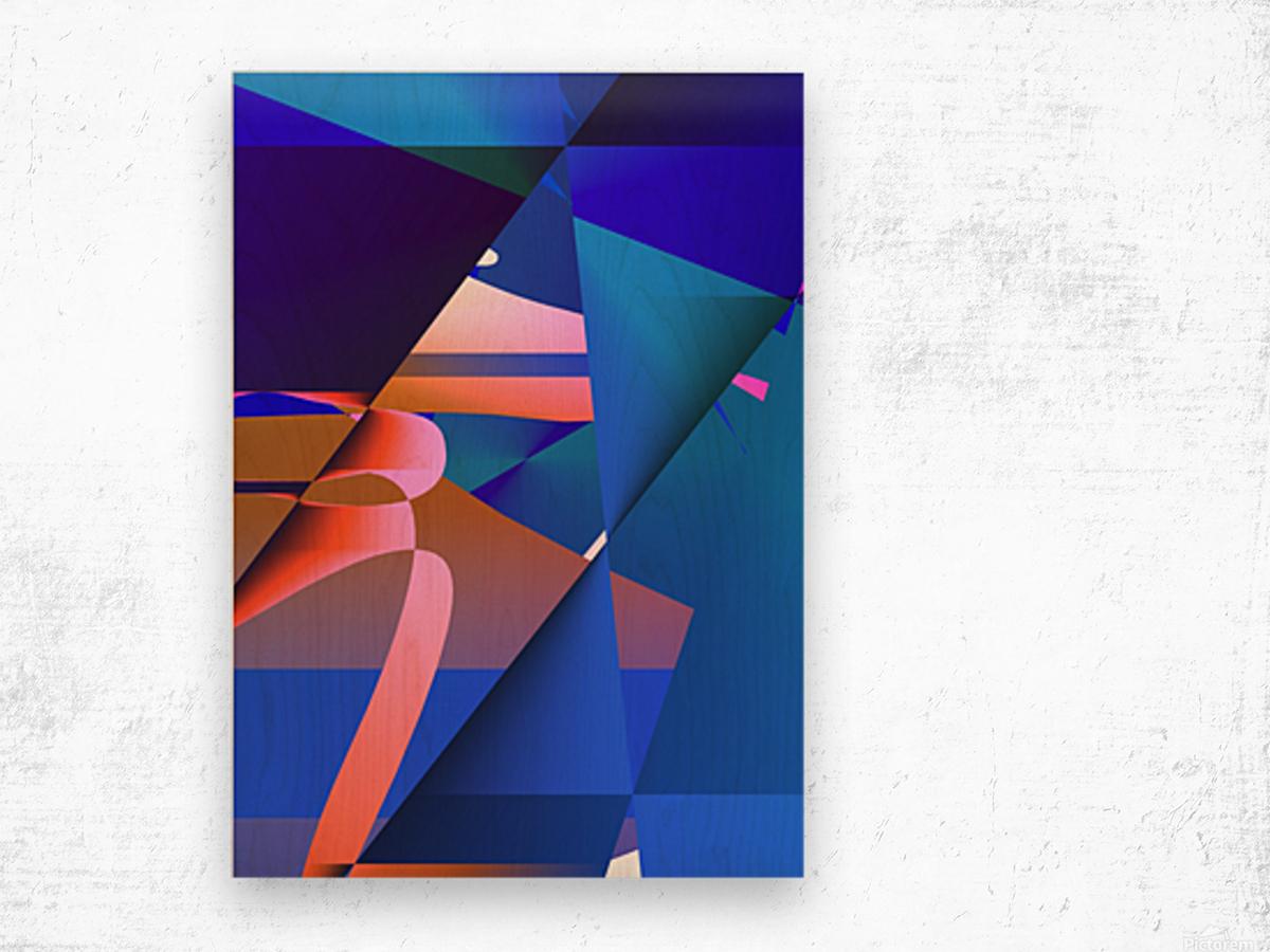 origami PII 12.9a3 18 Wood print