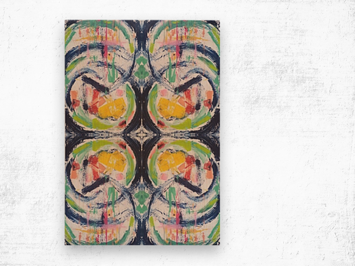 Kirstie II Wood print