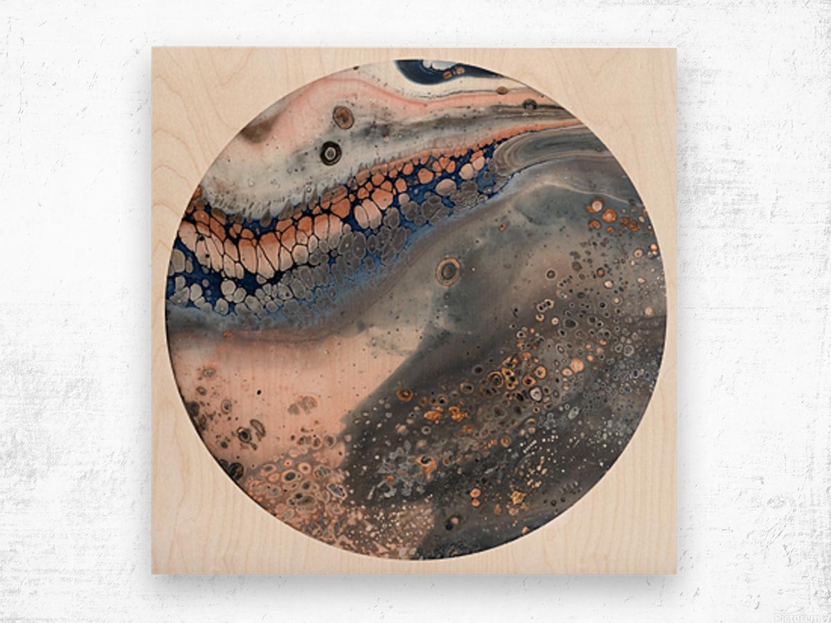 Seashore  Wood print