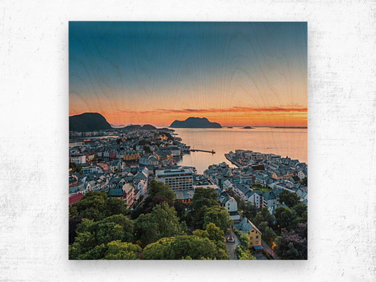 ÅLESUND 01  Wood print