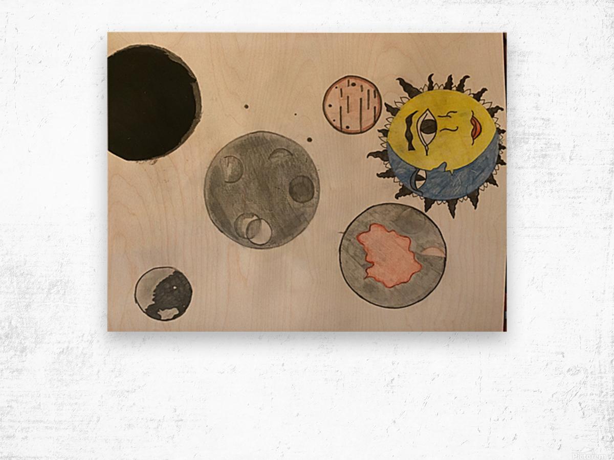 Where my Capricorn's At Wood print