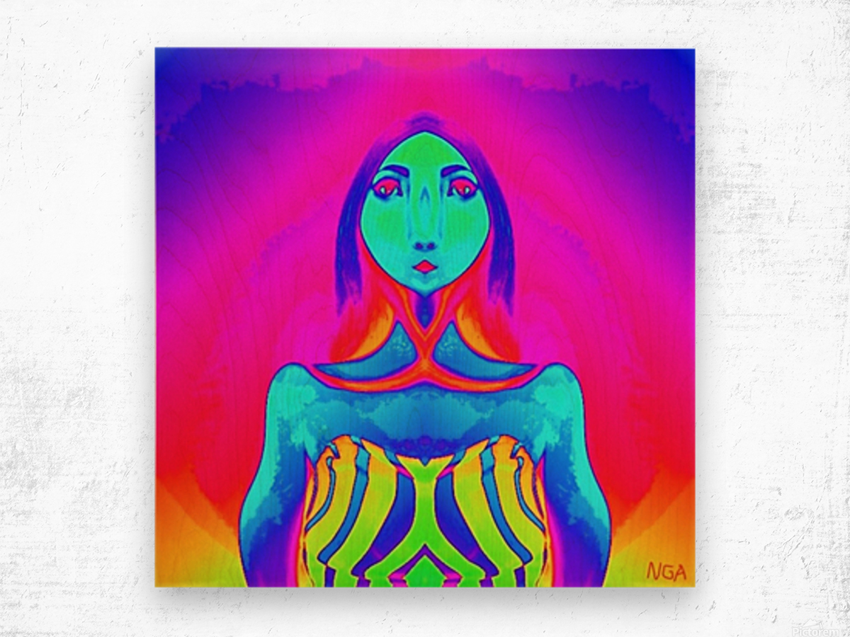 The Other Woman by neil gairn adams  Wood print