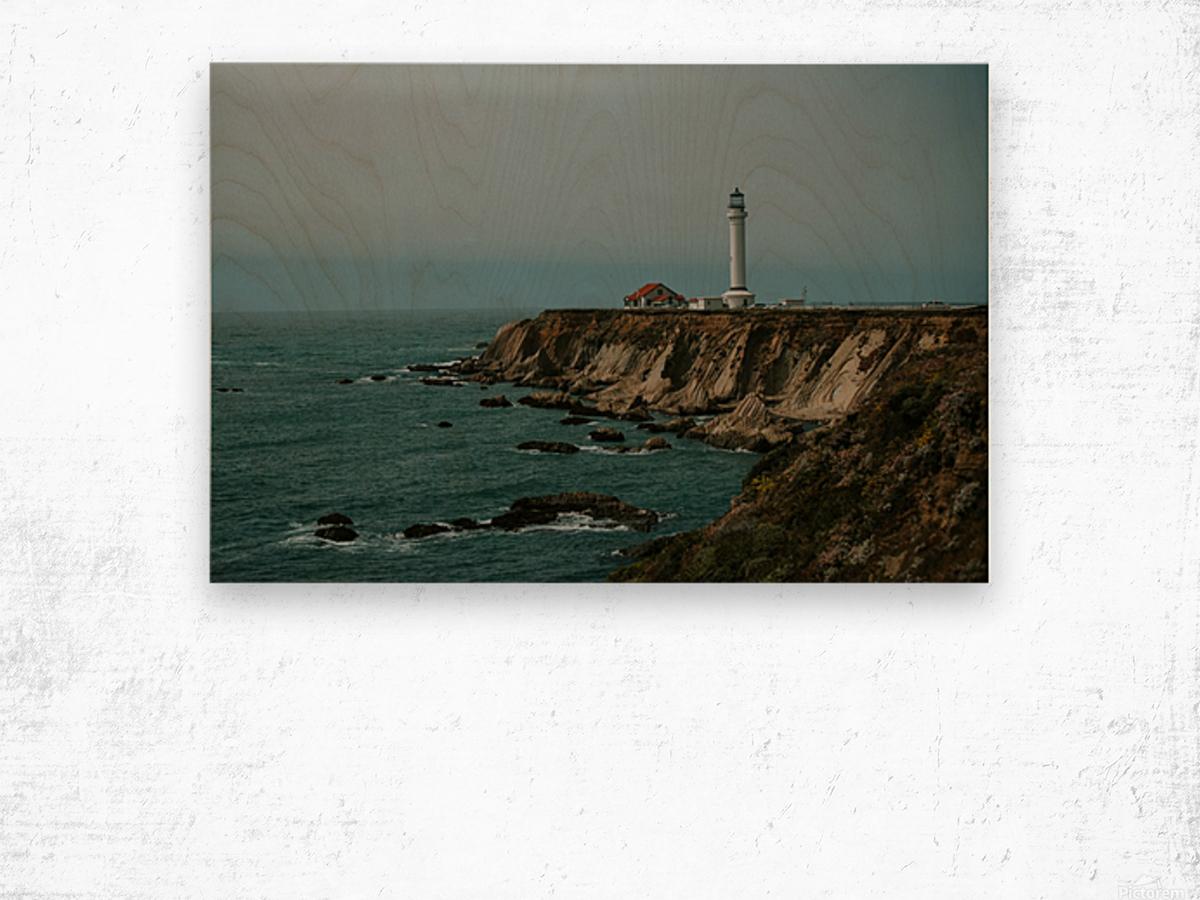Point Arena Lighthouse California Impression sur bois