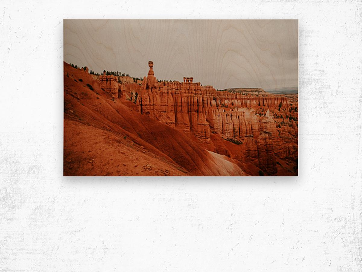 Bryce Canyon Utah Impression sur bois