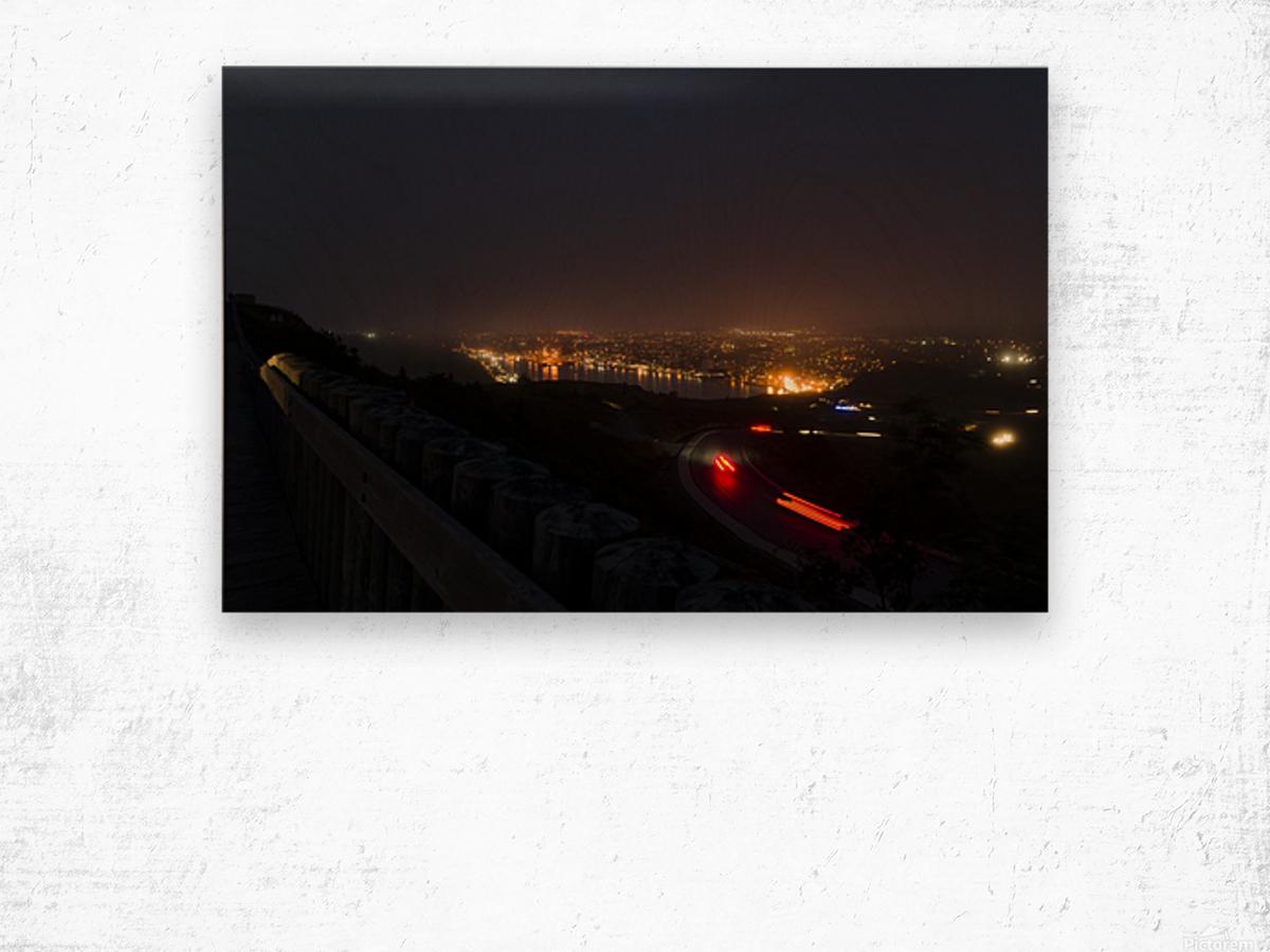 Night Scene from Signal Hill 7 Wood print