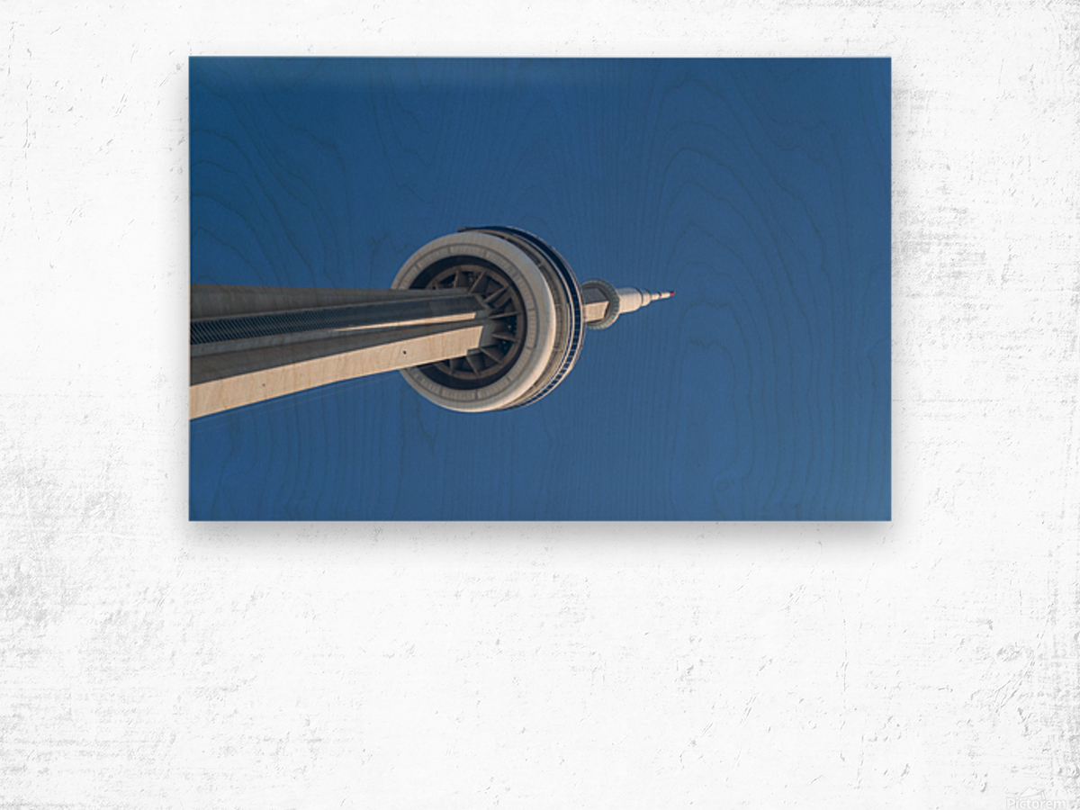CN Tower 3 Wood print