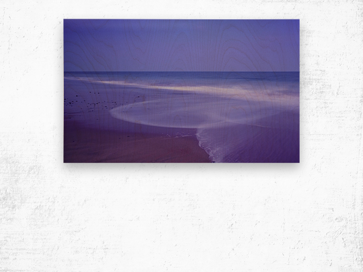 C 636 Ballybrannigan Beach Wood print