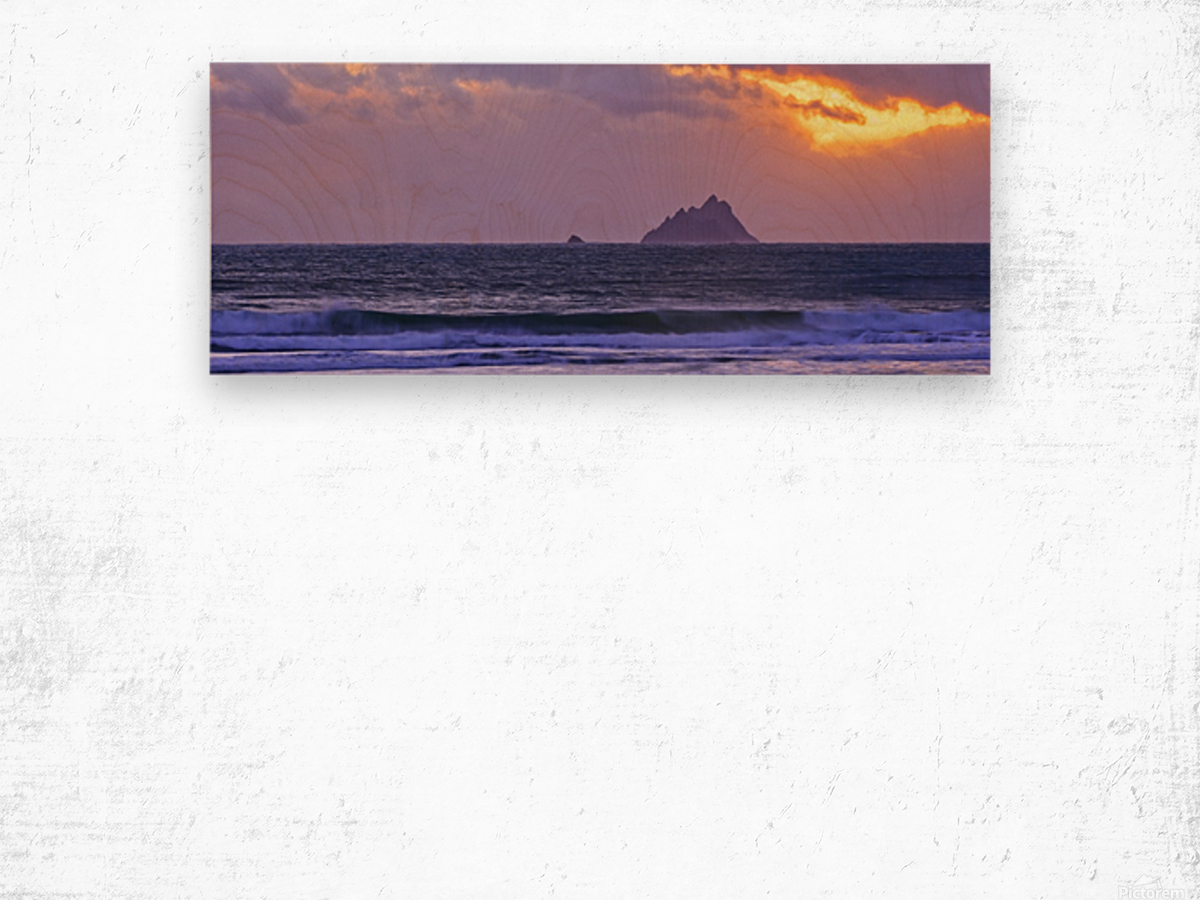 KY 280 Ballinskelligs Bay  Wood print
