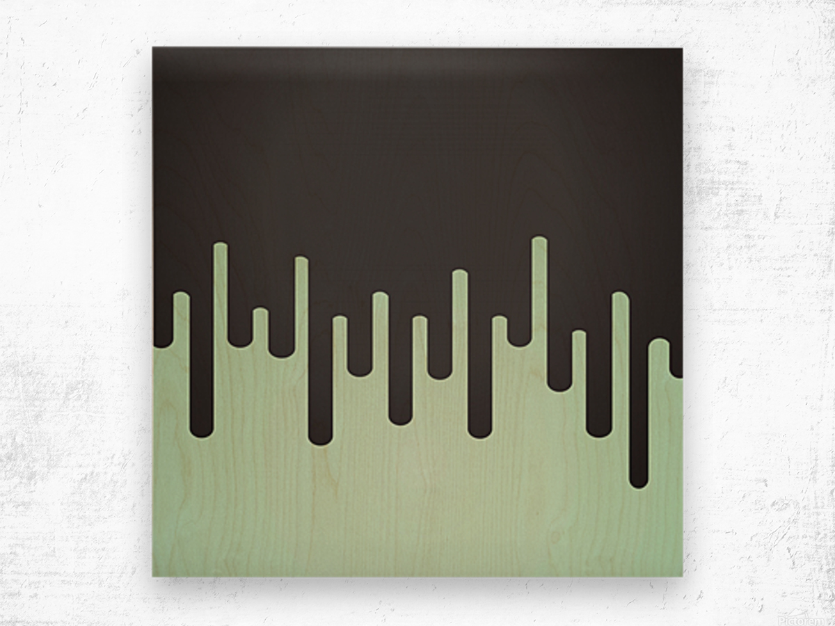 Pista Melting Tone Wood print