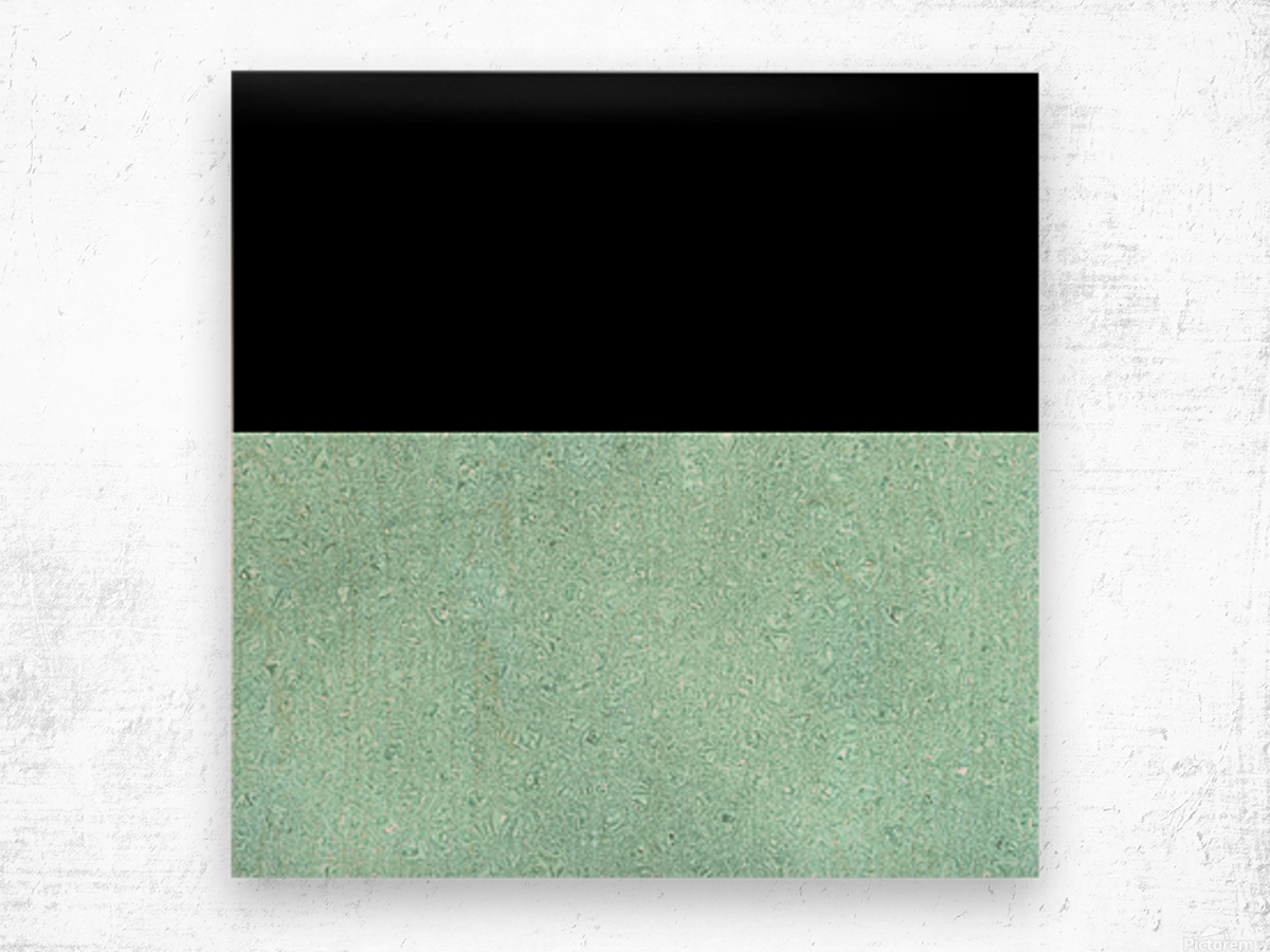 ABSTRACT TURQUOISE GLITTER Wood print