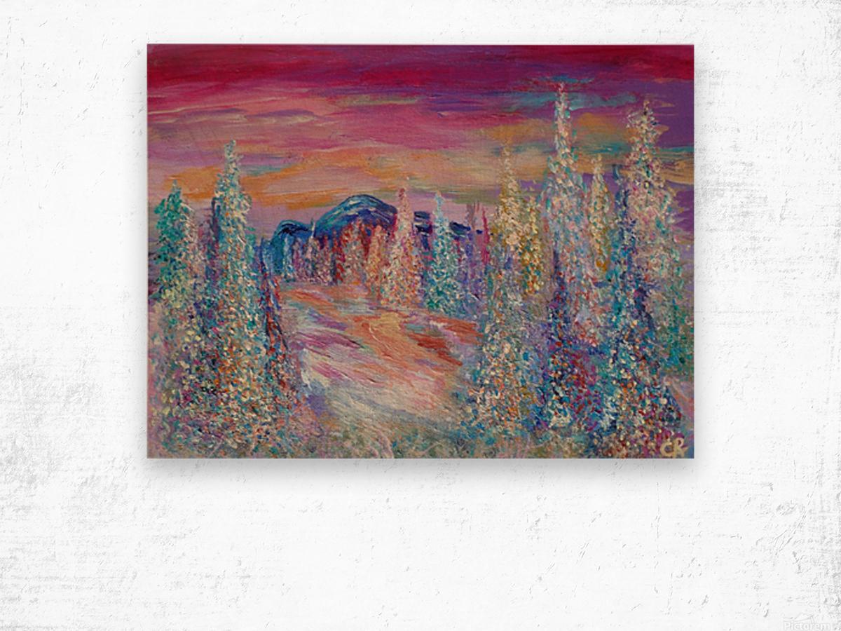 San Juan Mountains Colorado Wood print