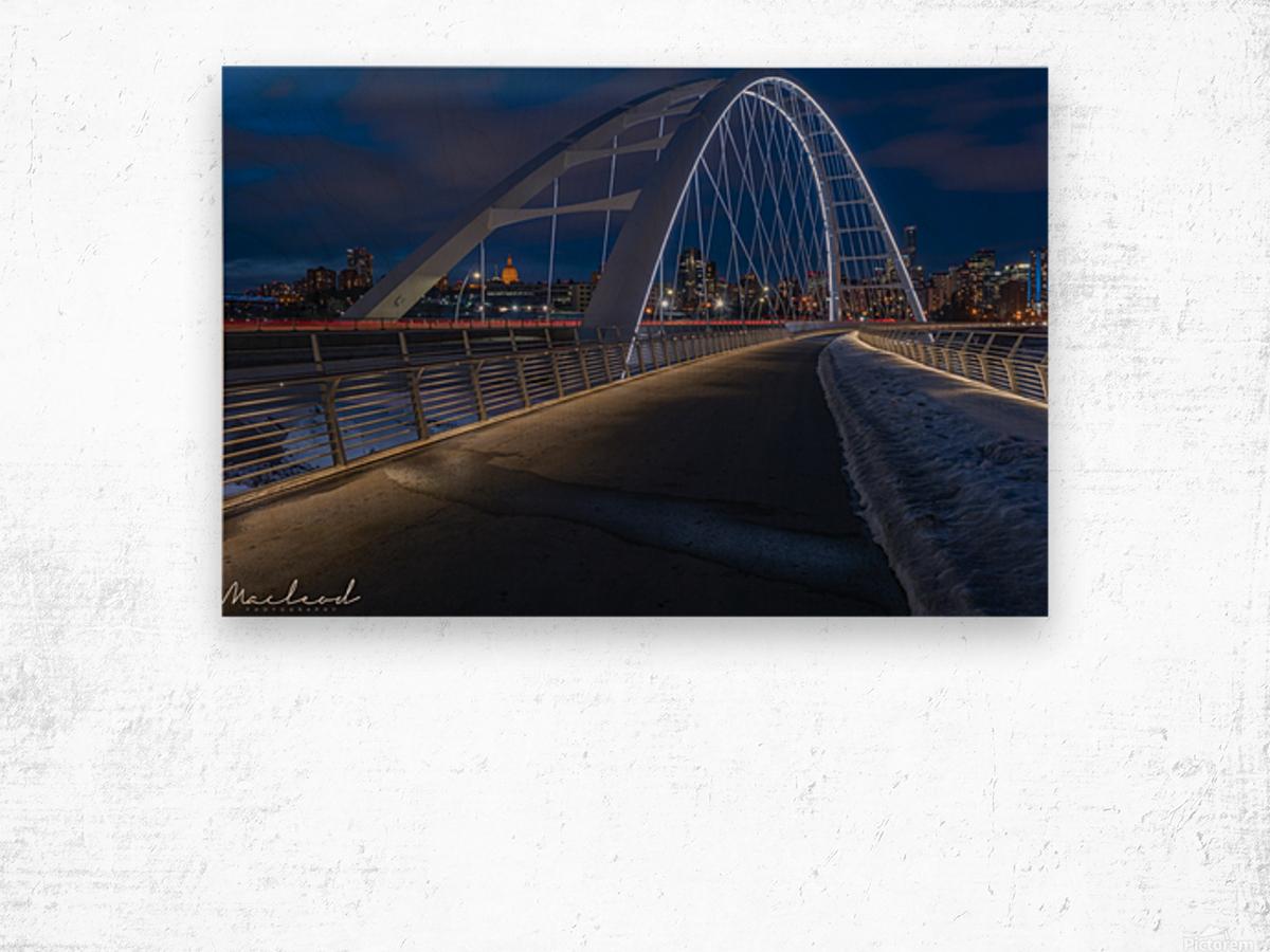 Walterdale_Bridge_NIK9895 Wood print