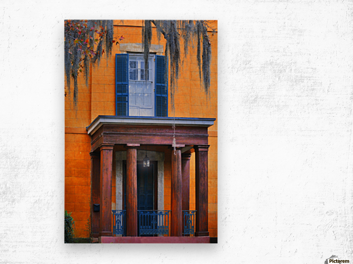 Savannah Porch Wood print