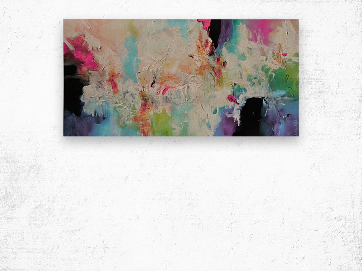 Abstract 39 Wood print