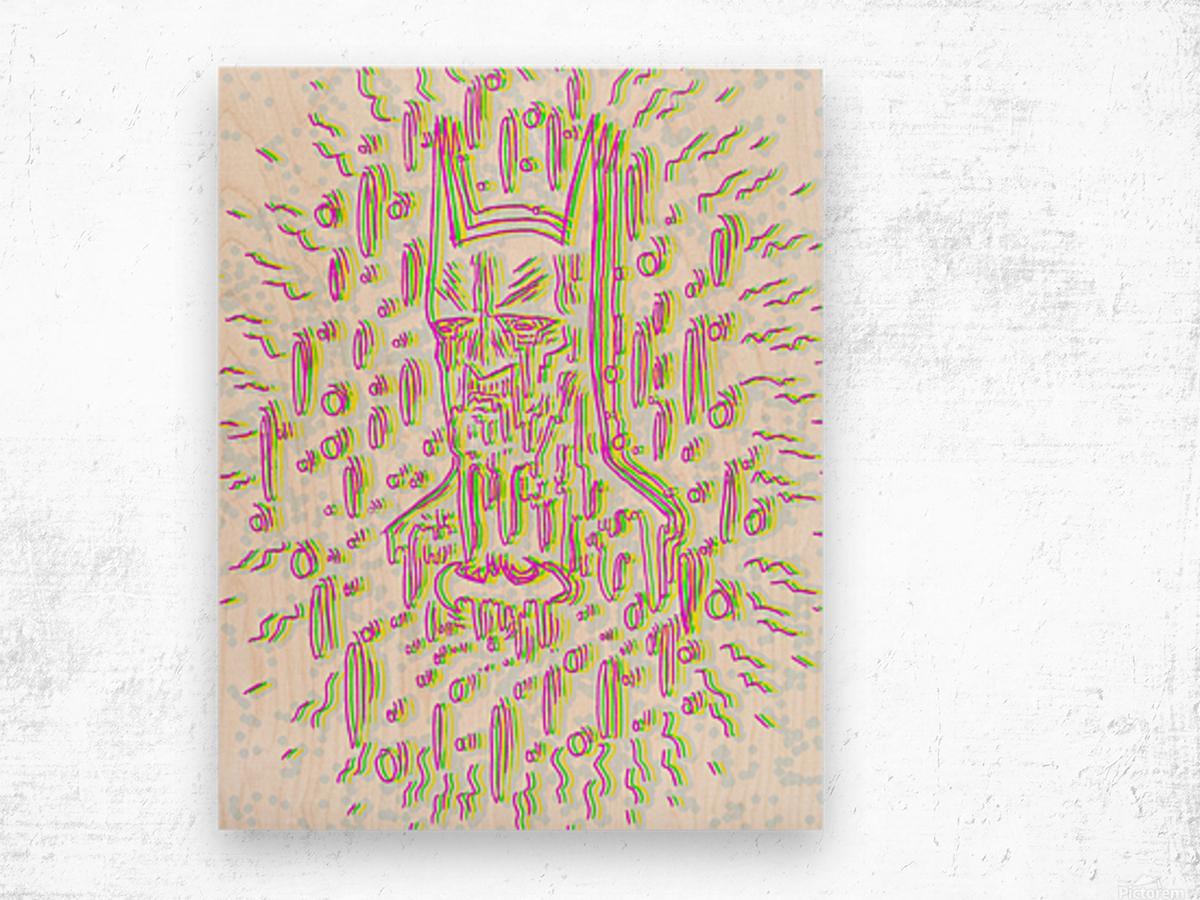 Meltyman Wood print