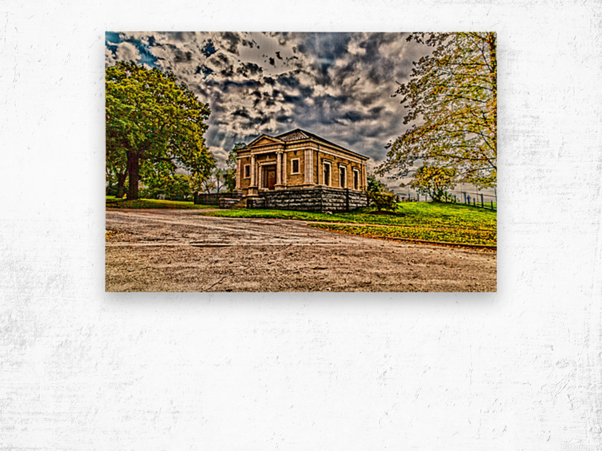 Highland Park 12 Wood print
