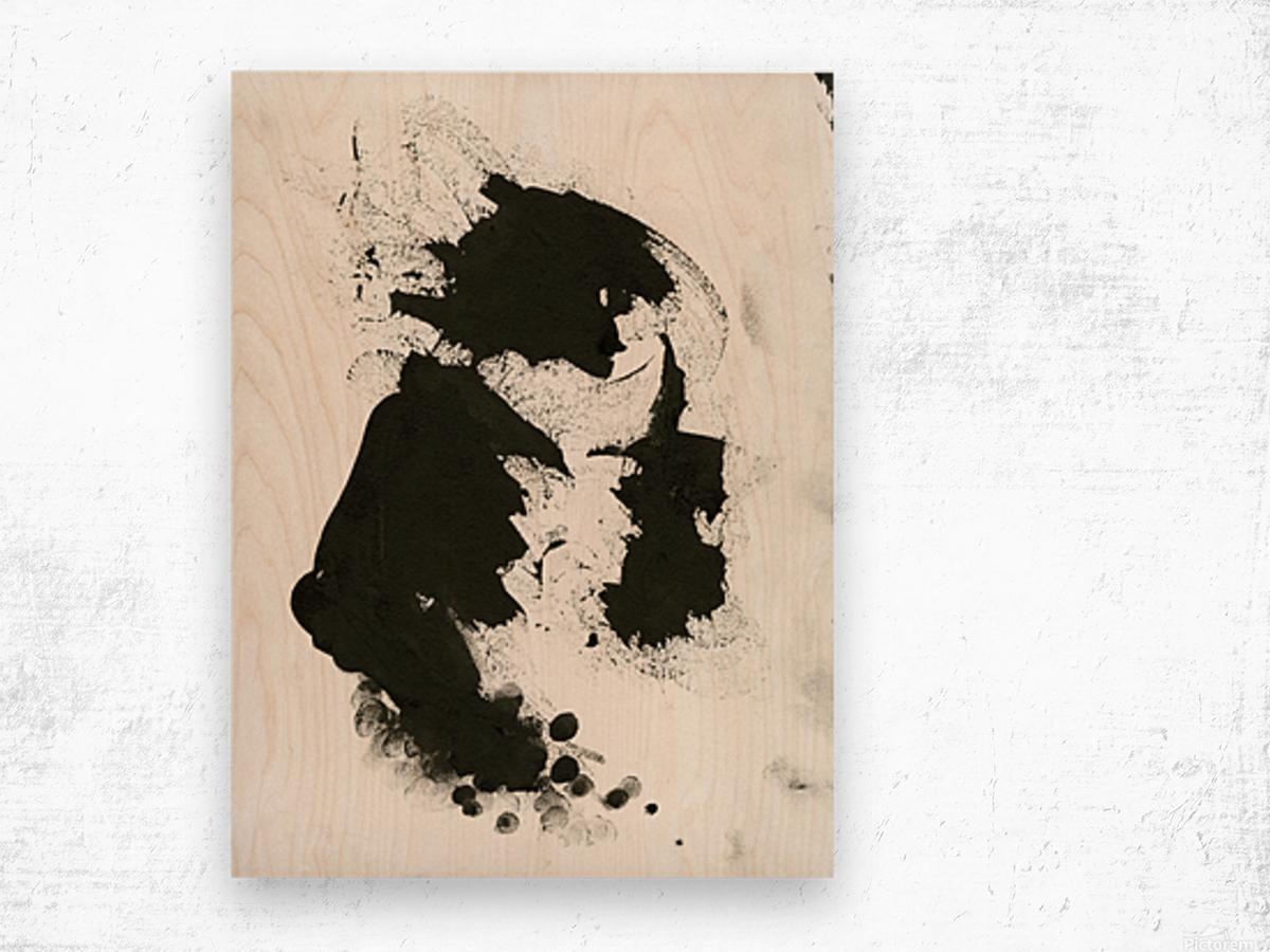Rock God Wood print