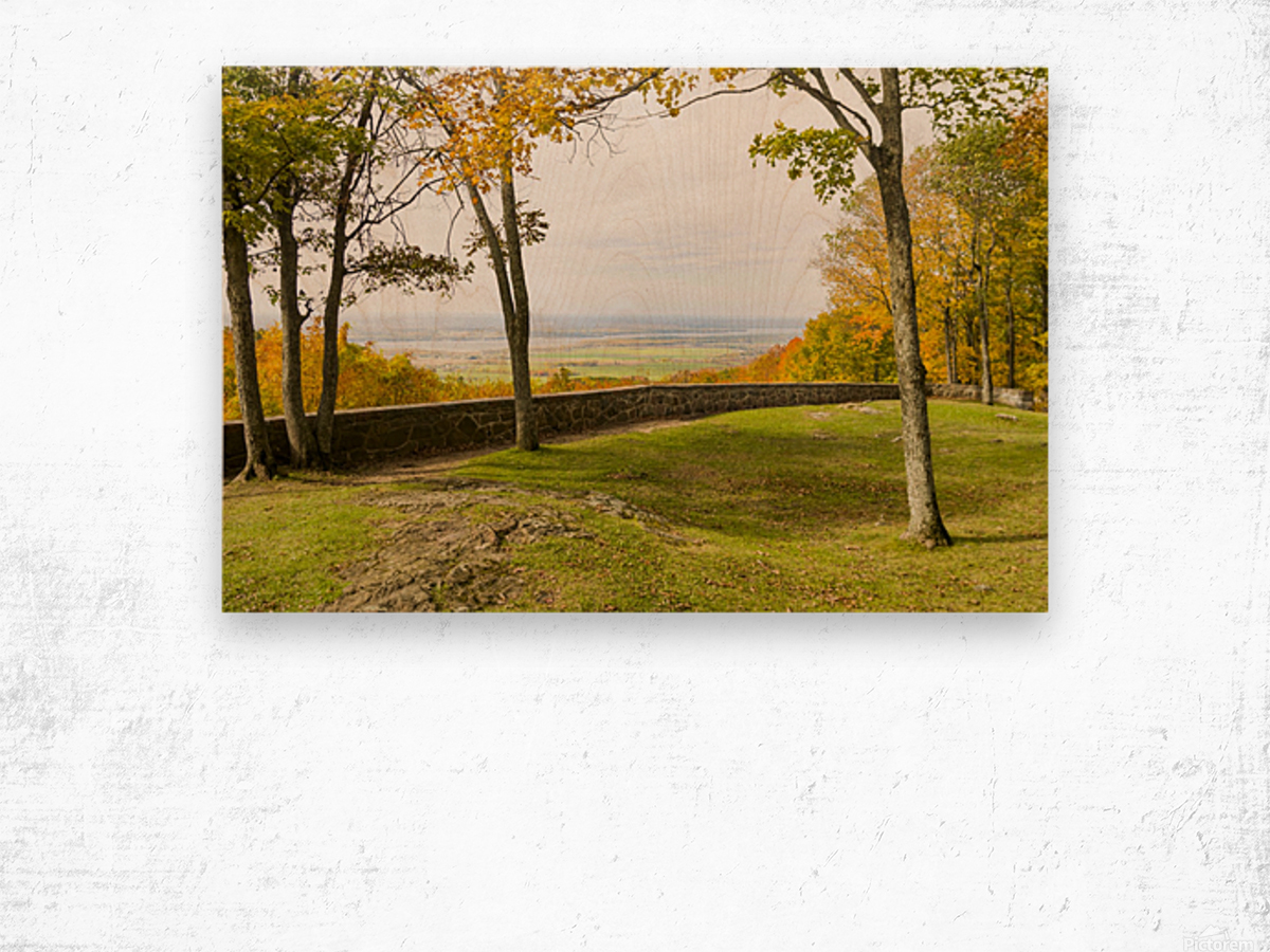 View of Ottawa Valley in Autumn 33 Wood print