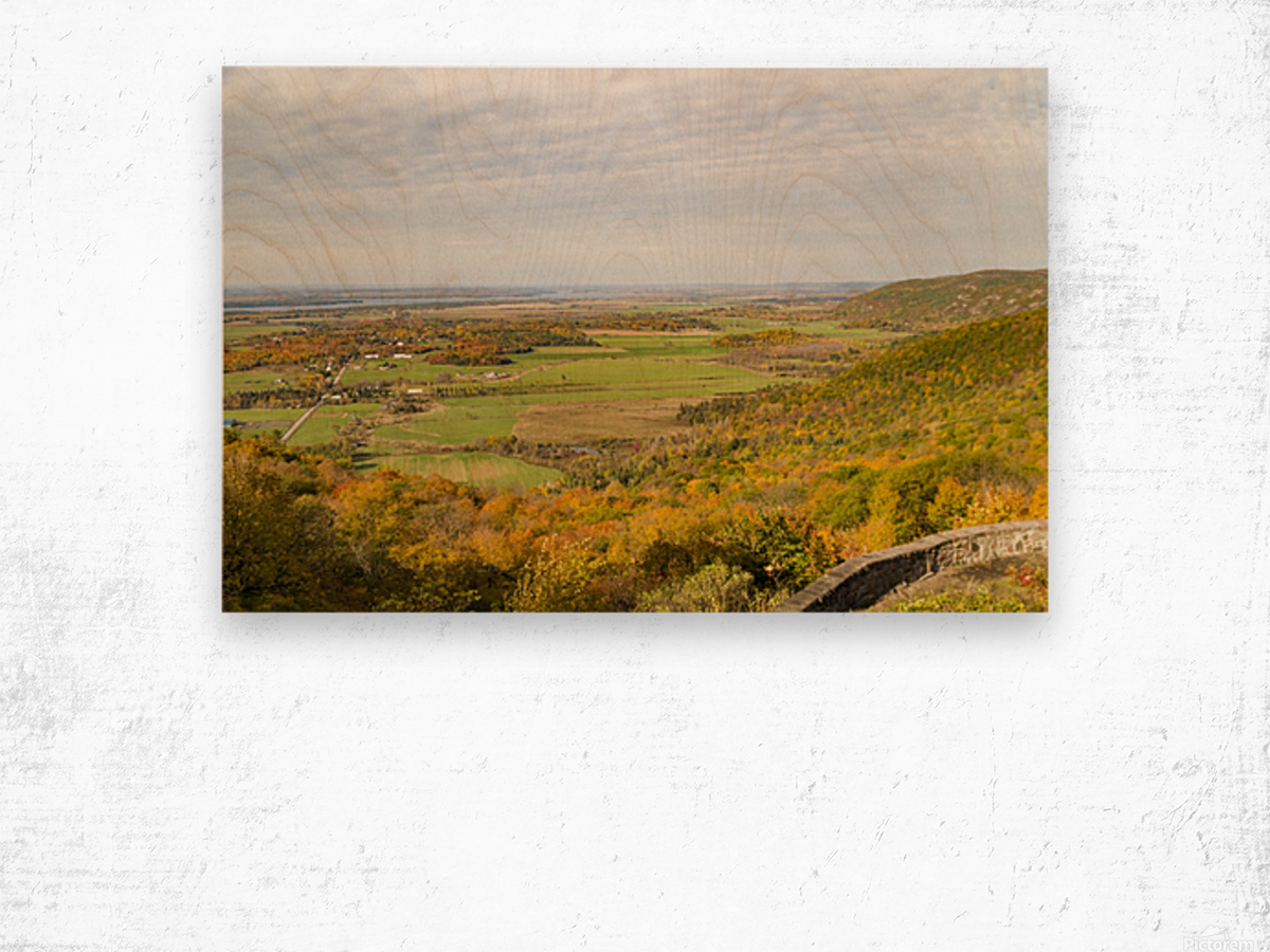View of Ottawa Valley in Autumn 9 Wood print