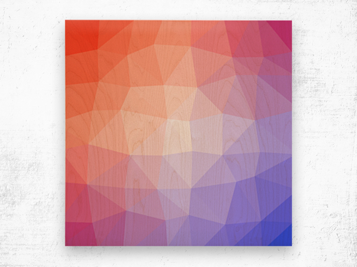 Abstract art patterns low poly polygon 3D backgrounds, textures, and vectors (5) Wood print