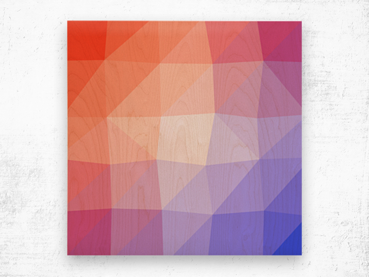 Abstract art patterns low poly polygon 3D backgrounds, textures, and vectors (3) Wood print