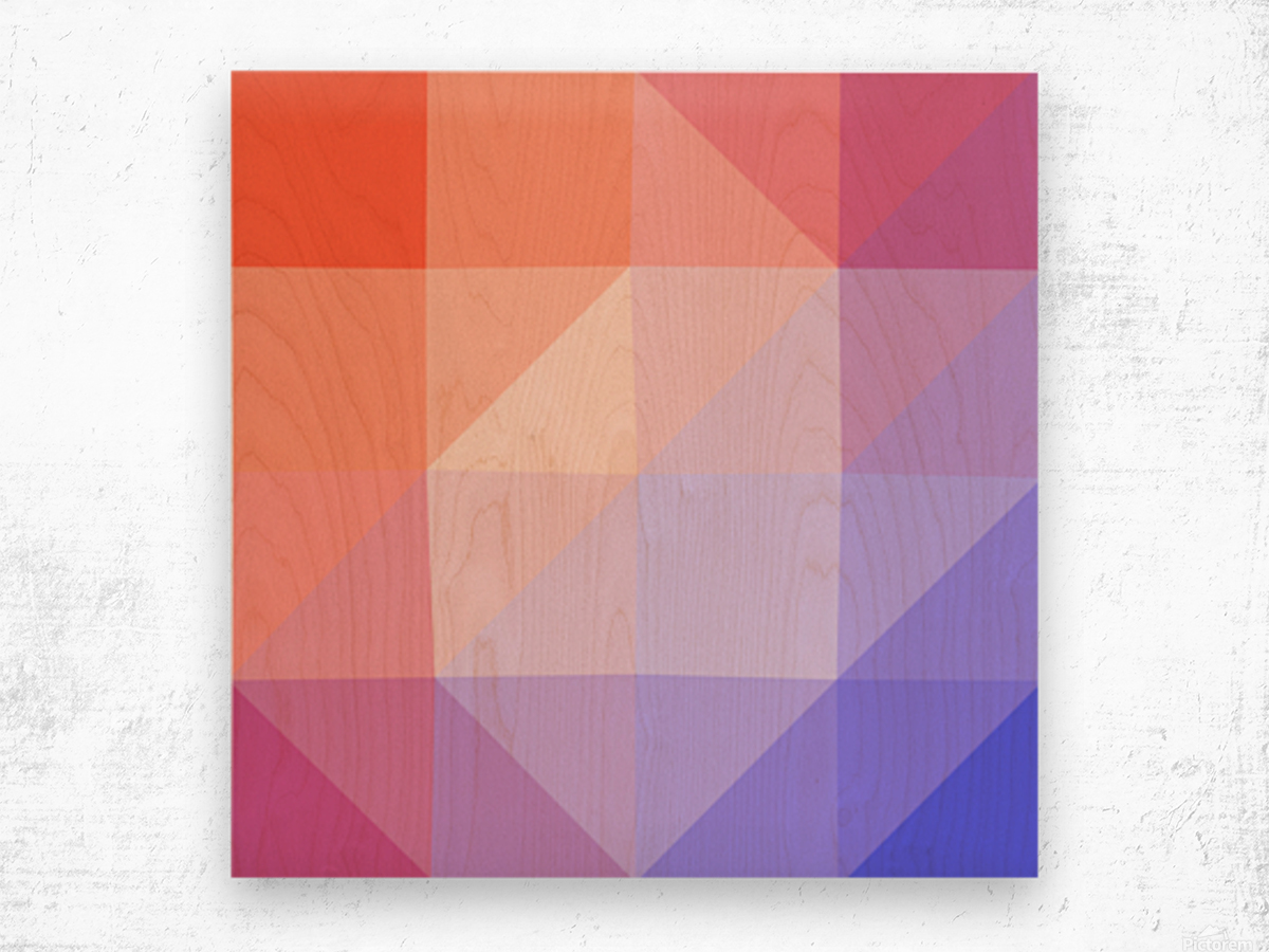 Abstract art patterns low poly polygon 3D backgrounds, textures, and vectors (13) Wood print