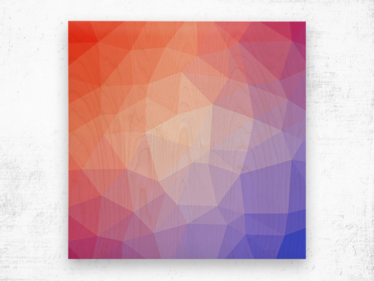 Abstract art patterns low poly polygon 3D backgrounds, textures, and vectors (8) Wood print