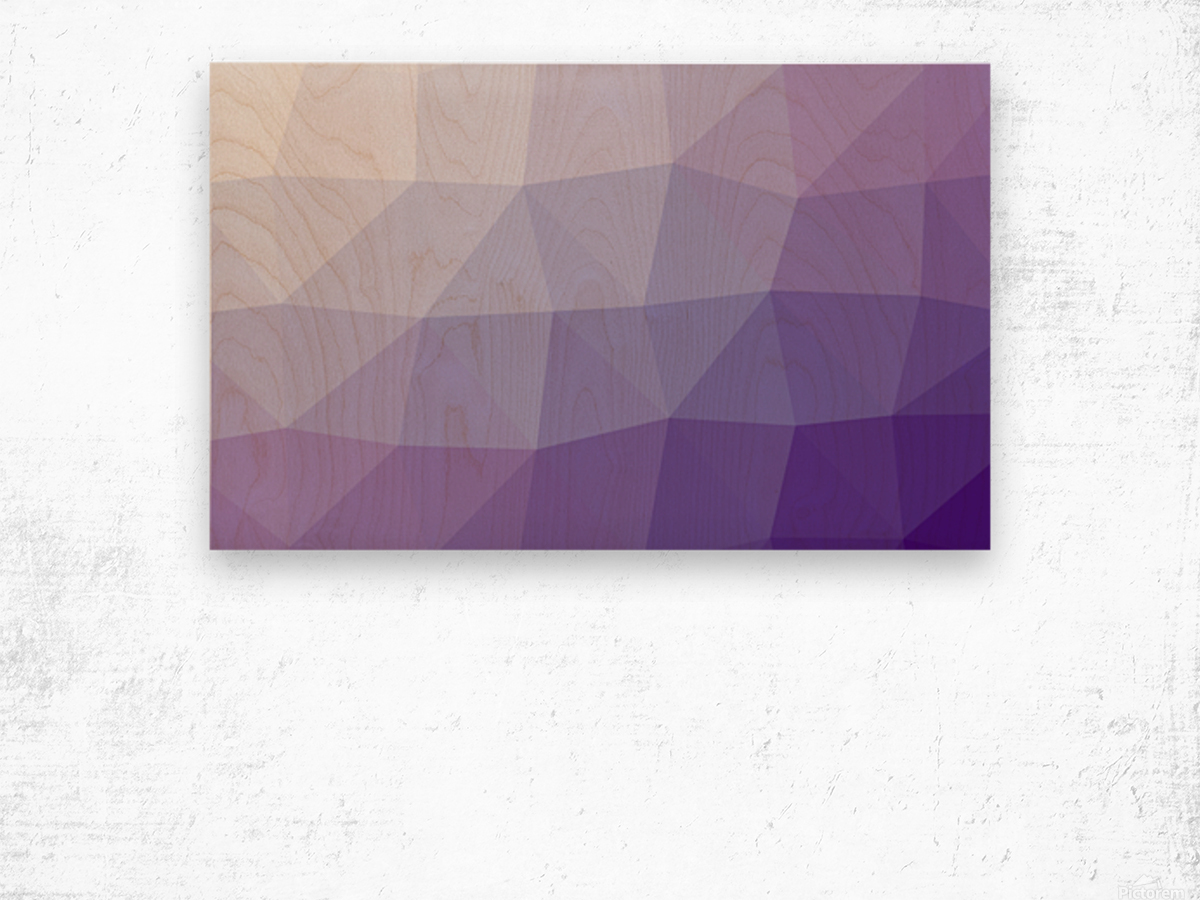 patterns Abstract art (2) Wood print