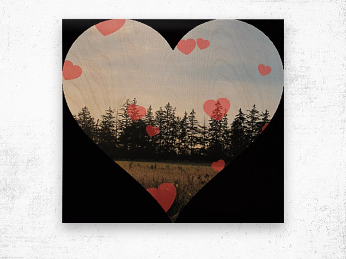 Heart (21).gif Wood print