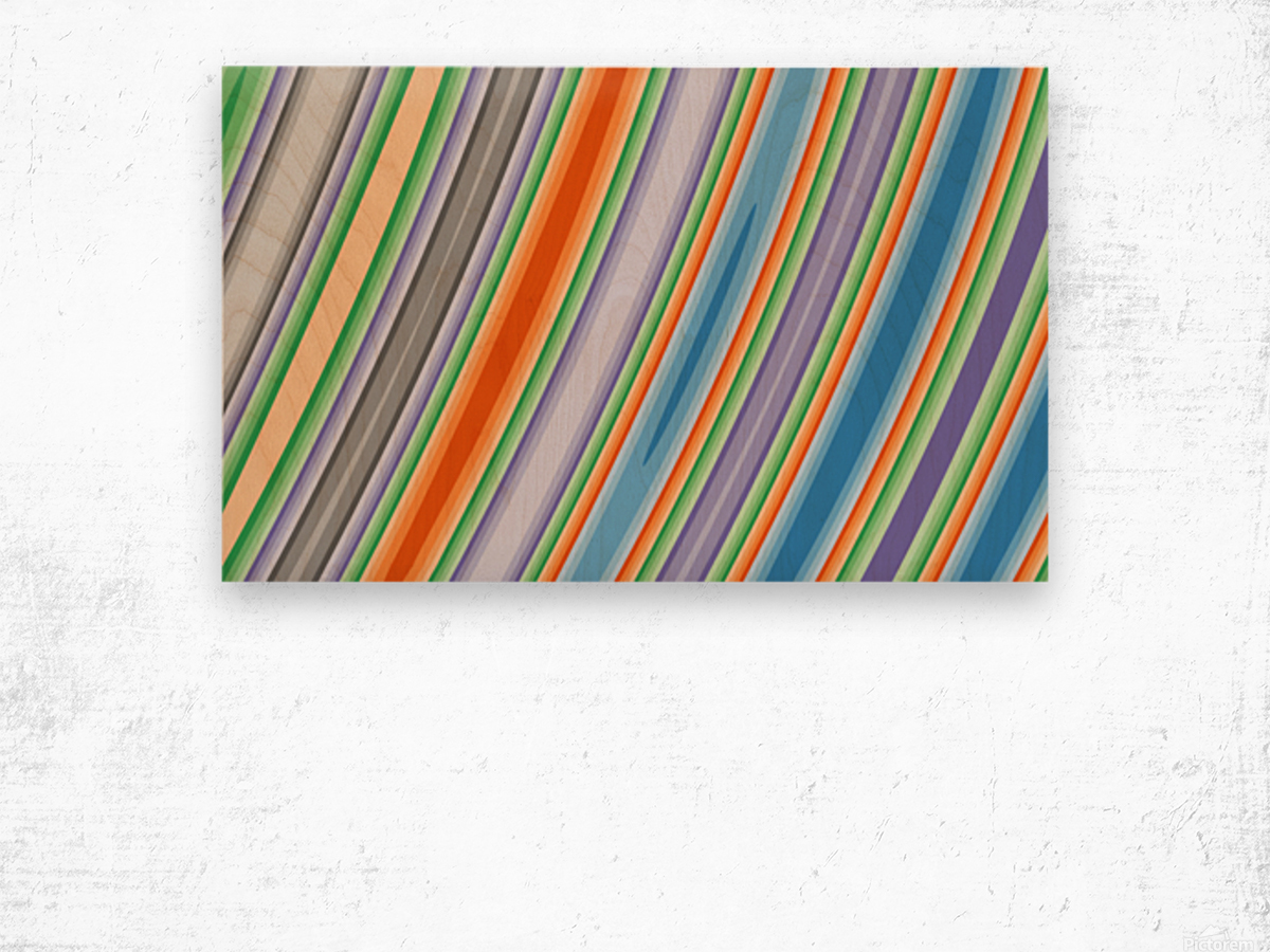 New Popular Beautiful Patterns Cool Design Best Abstract Art (55) Wood print