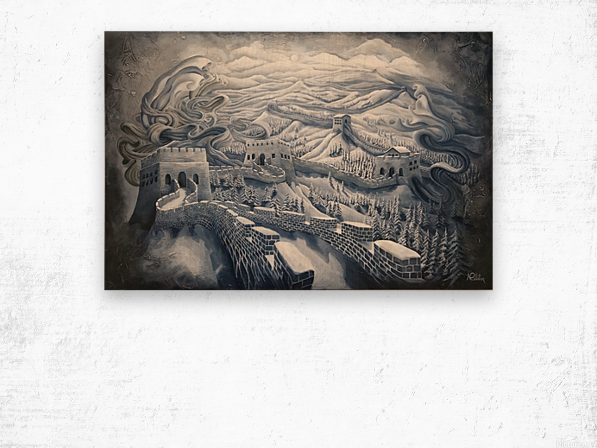 The first season of the Great Wall Wood print
