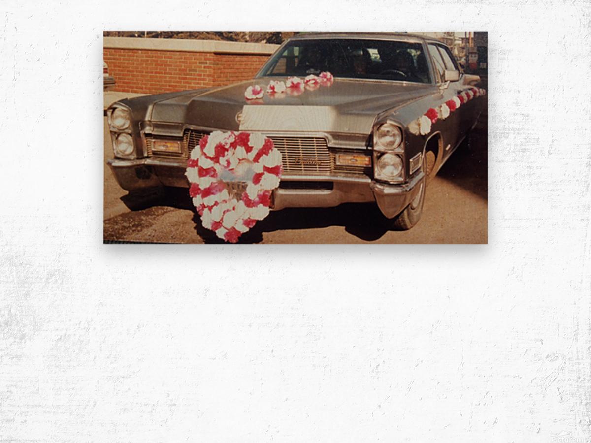 Cadillac 1968 Wood print