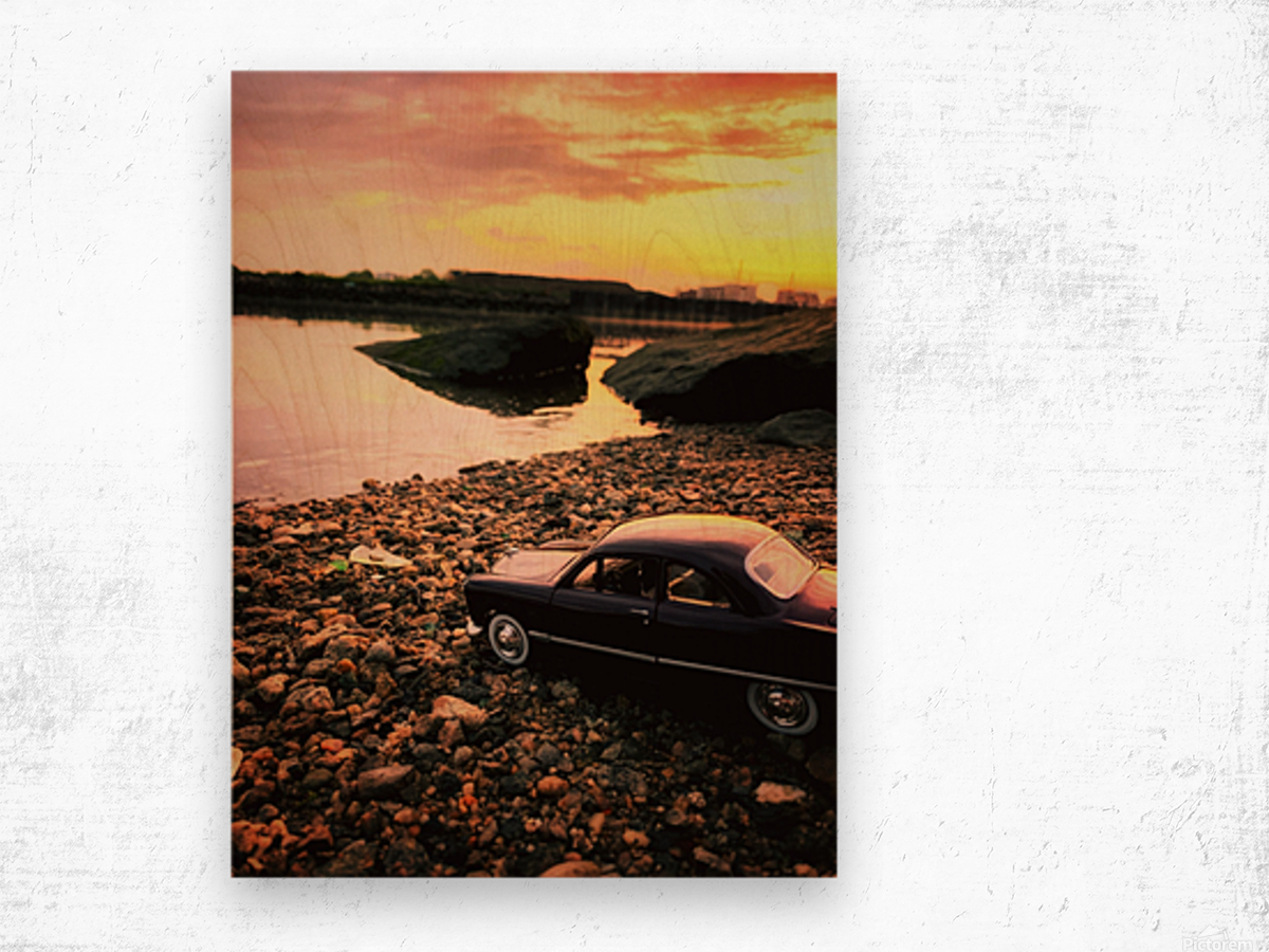 By the rivers of.... Wood print