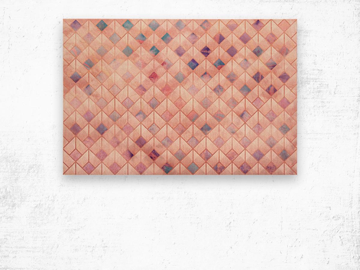 Geometric XXXXVII Wood print