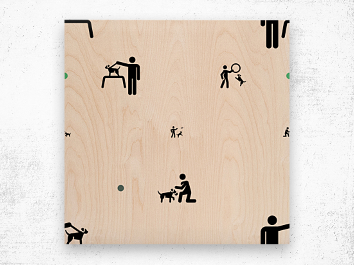 Dog (60) Wood print