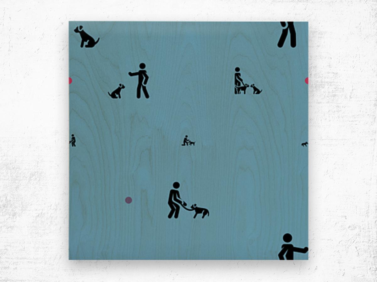 Dog (59) Wood print
