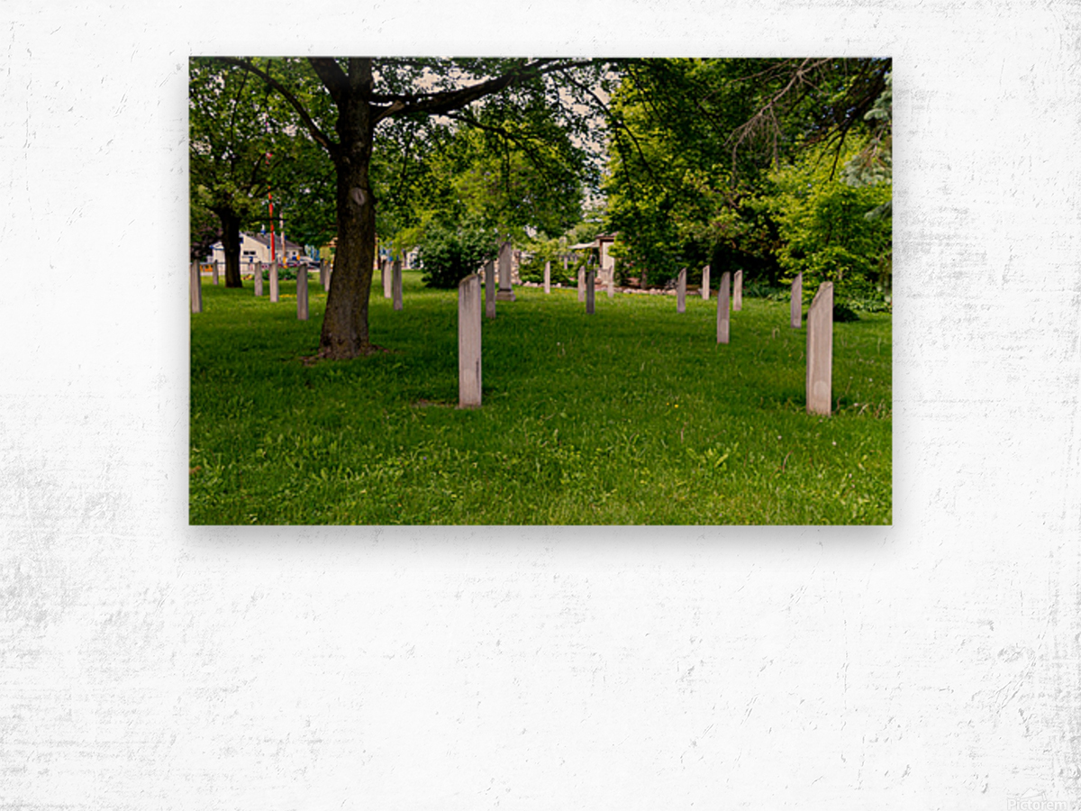 Civil War Memorial 11 Wood print