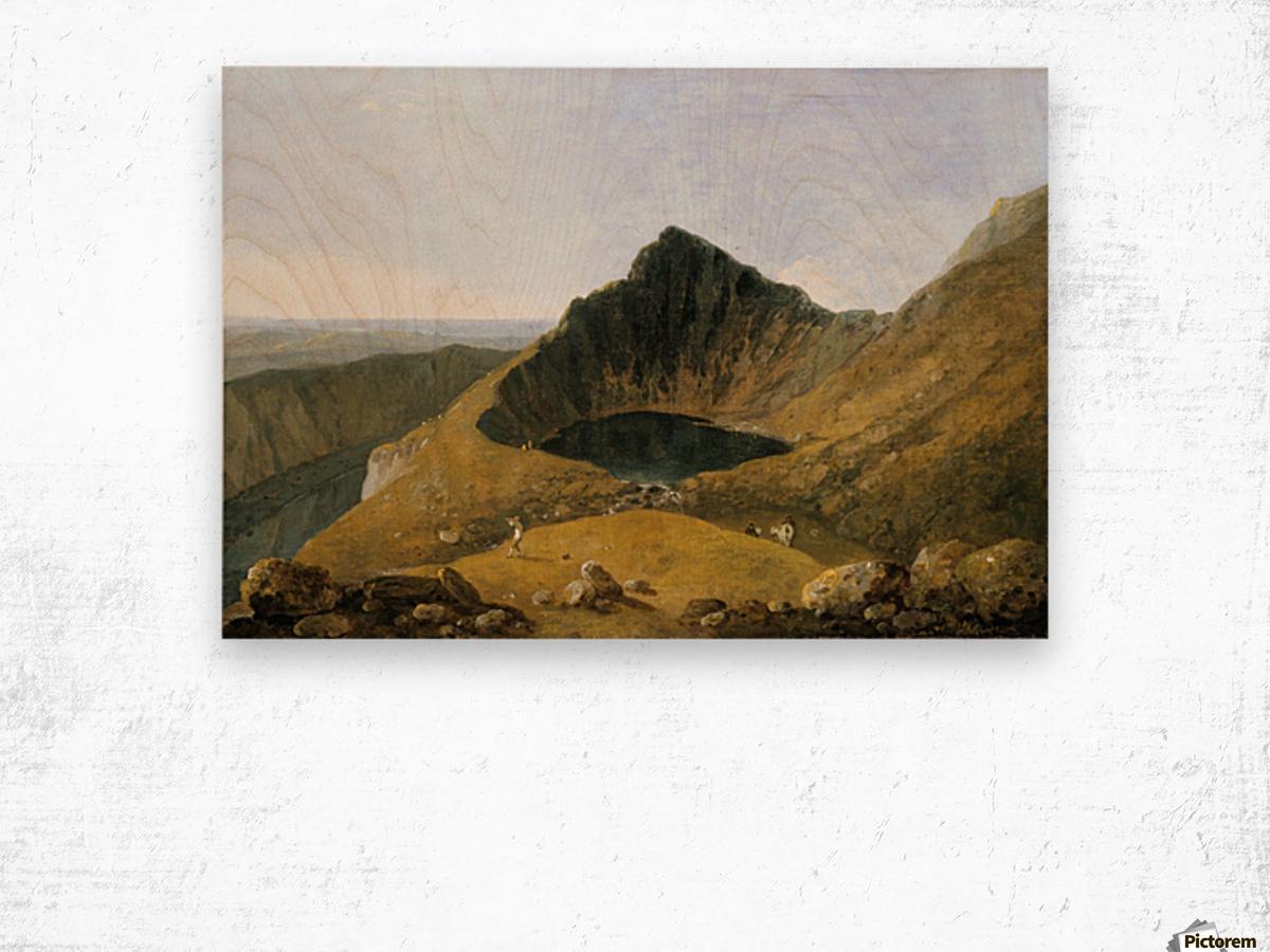 Cader Idris Wood print