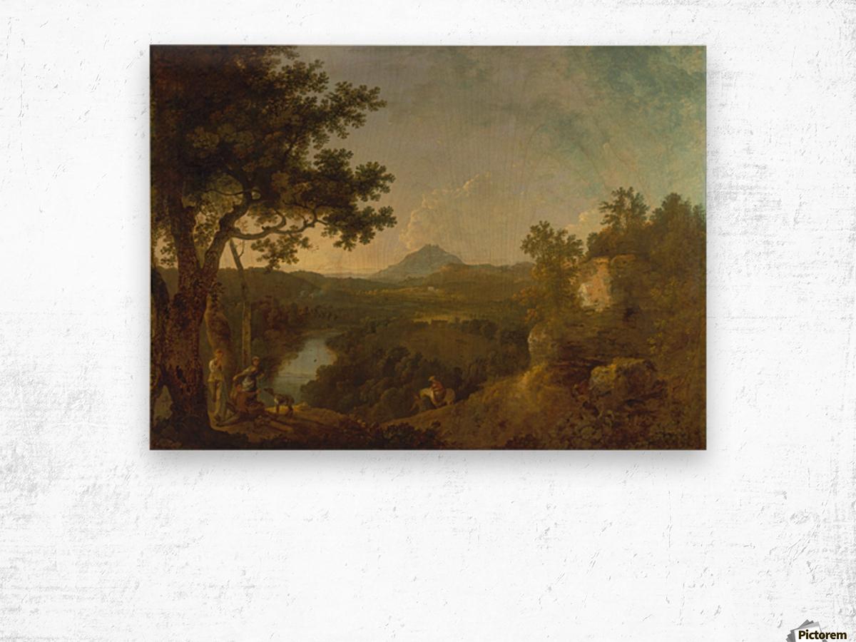 View near Wynnstay Wood print