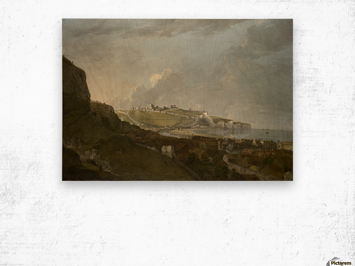 View of dover Wood print