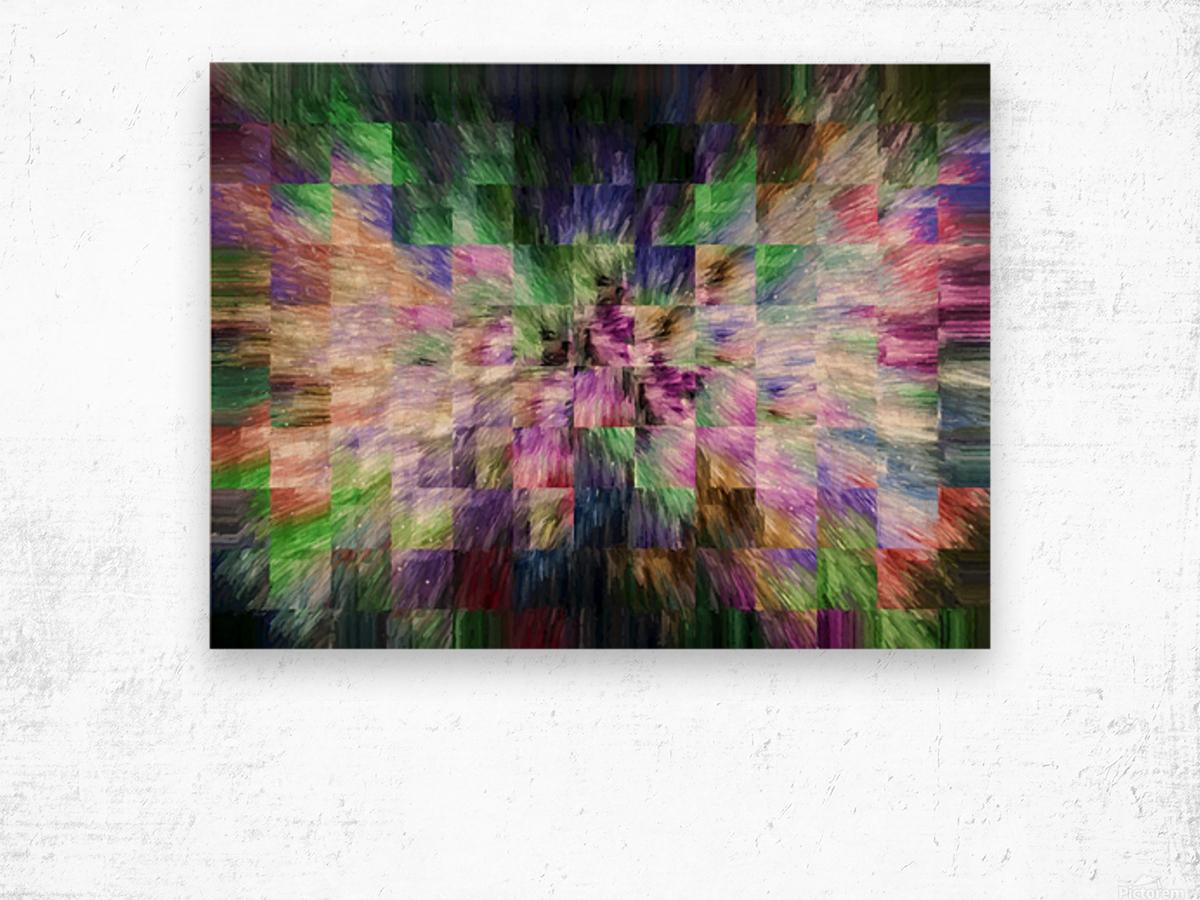 A Brush of Angel Wings Wood print